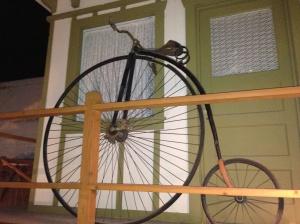 Nice old bike at the Wickenburg Museum