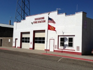 Shoshone Idaho Fire Station