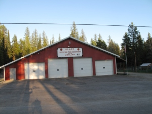 Olney Montana Fire Hall