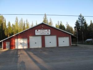 Olney Montana Fire Hall
