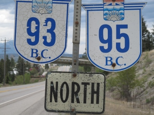 Route 93 in BC