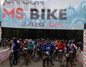 Hinton Start line