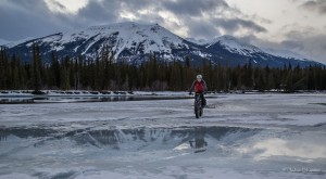 Greg Fat Biking